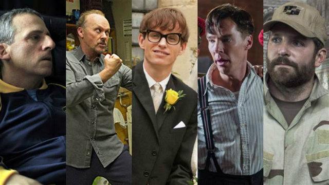 Oscar 2015, Melhor Ator