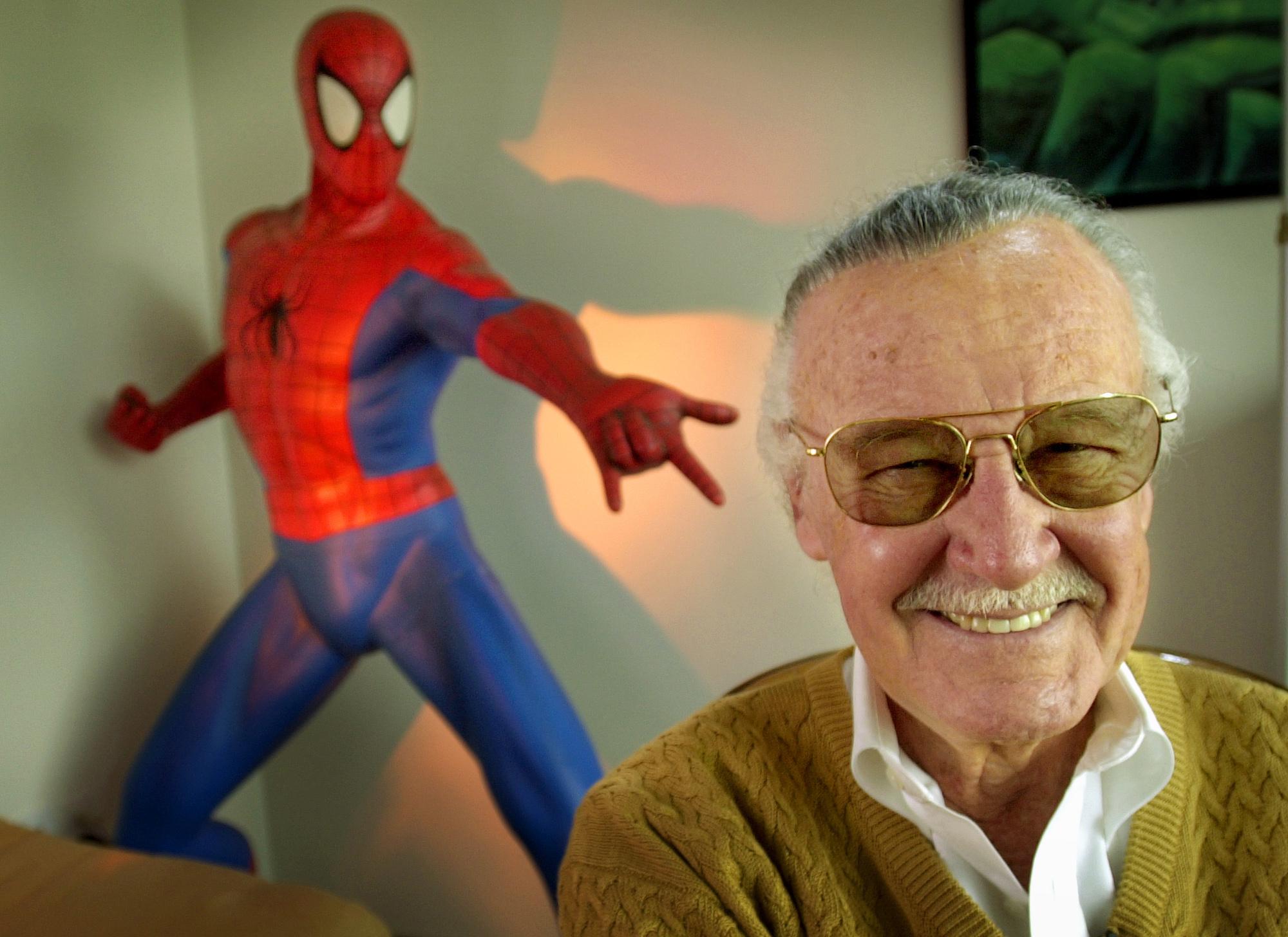 Criador de Super-Heróis e da Marvel faz desenho para Criança com Autismo/ Foto denofgeek.us