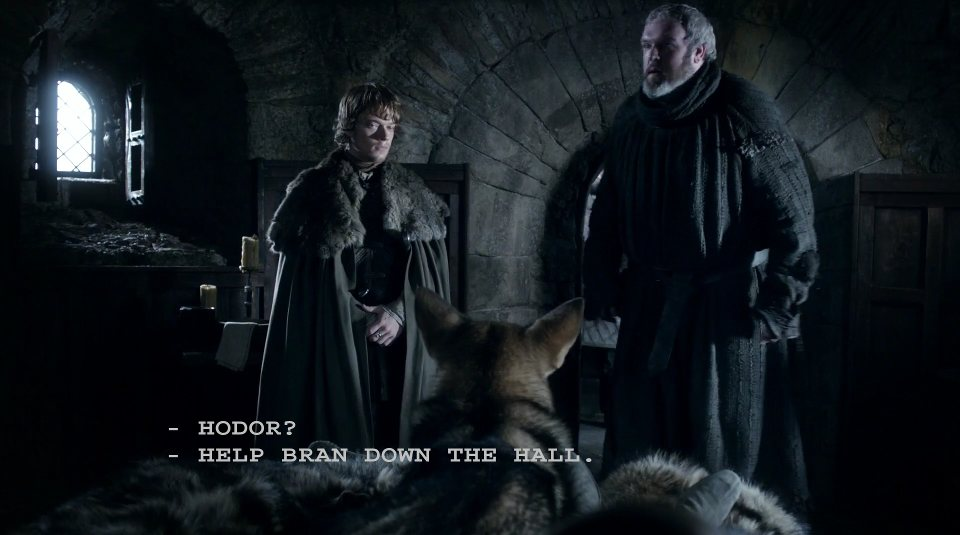 HODOR - Game of Thrones S06e05