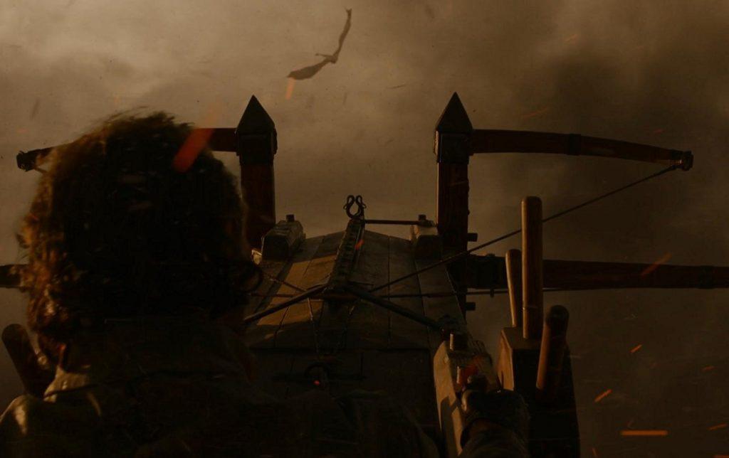 Bronn pilotando o Scorpion