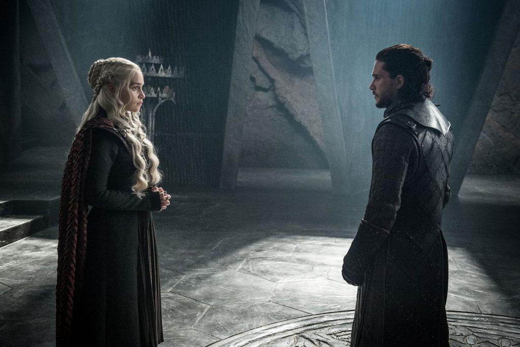 Encontro do Gelo e Fogo - Jon e Dany