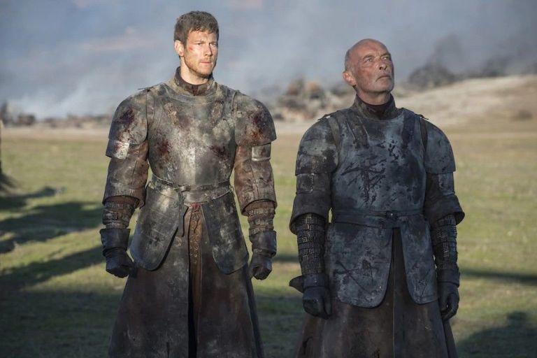 Randall e Dickon Tarly, segundos antes de sua morte