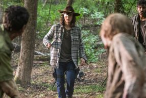 THE WALKING DEAD: SO8EP6 – The King, The Widow and Rick