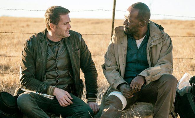 John e Morgan conversando sobre o passado e o presente